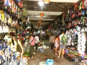 Ho Chi Minh, Vietnam- The Cho Ben Thanh Market