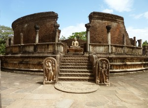 Hatadage Monument, Quadrangle, Polonnaruwa, Sri Lanka