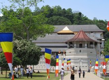 Kandy Temple of the tooth relic, Sri Lanka