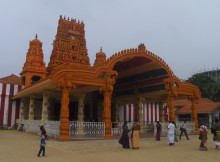 Entrance of the Nallur Temple, Jaffna Town