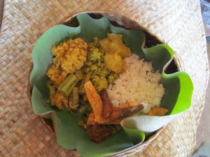Sri Lankan Food  Rice & Curry