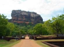 The Sigiriya Rock Fortress of Sri Lanka