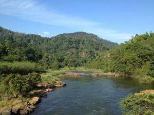 Kitulgala Kelani river
