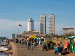 Colombo walk along Galle Face