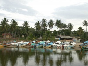 Arugam Bay is a remote fishing village