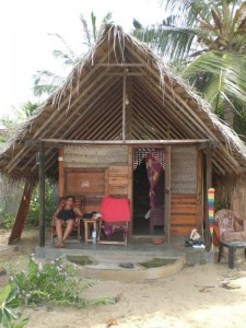 Chillaxing at my cabana at Samantha's Folly