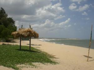 The lovely golden beach!