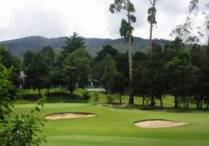 The historical Nuwara Eliya Golf Club.