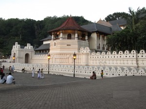Kandy's top attraction: the sacred Temple of the Tooth.