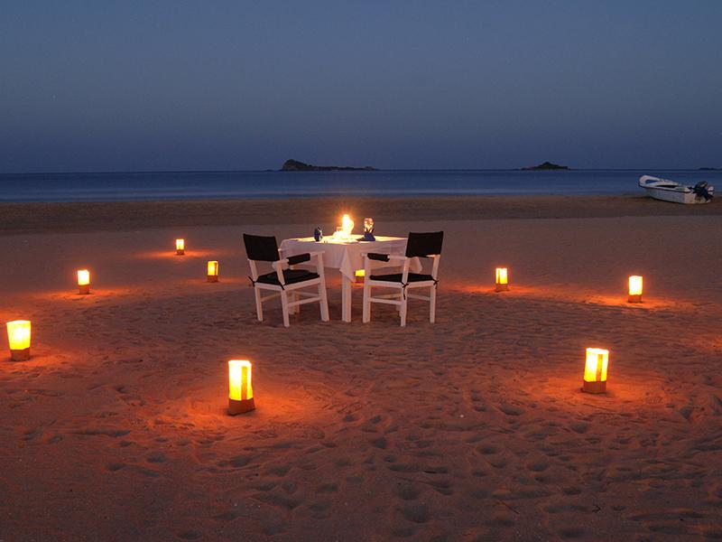 Dinner Beach Sri Lanka