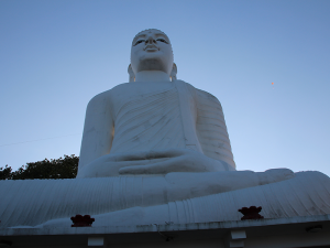 Buddha statue of the Bahirawakanda Temple